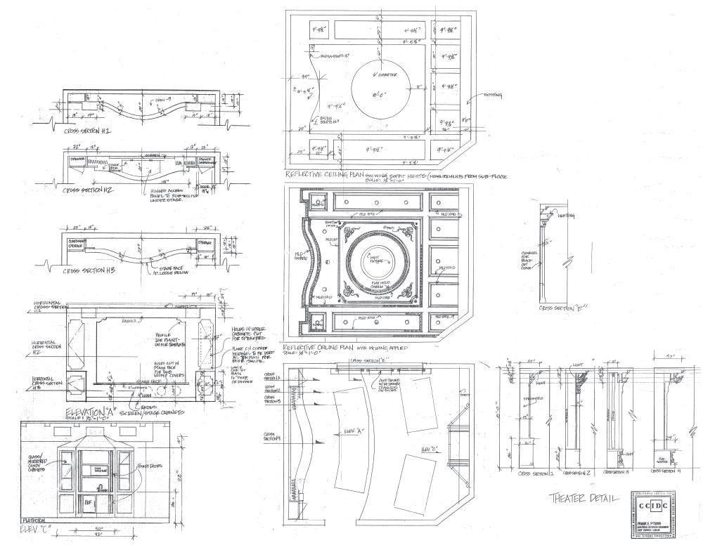 Interior Design Drawings - Frank Pitman Designs