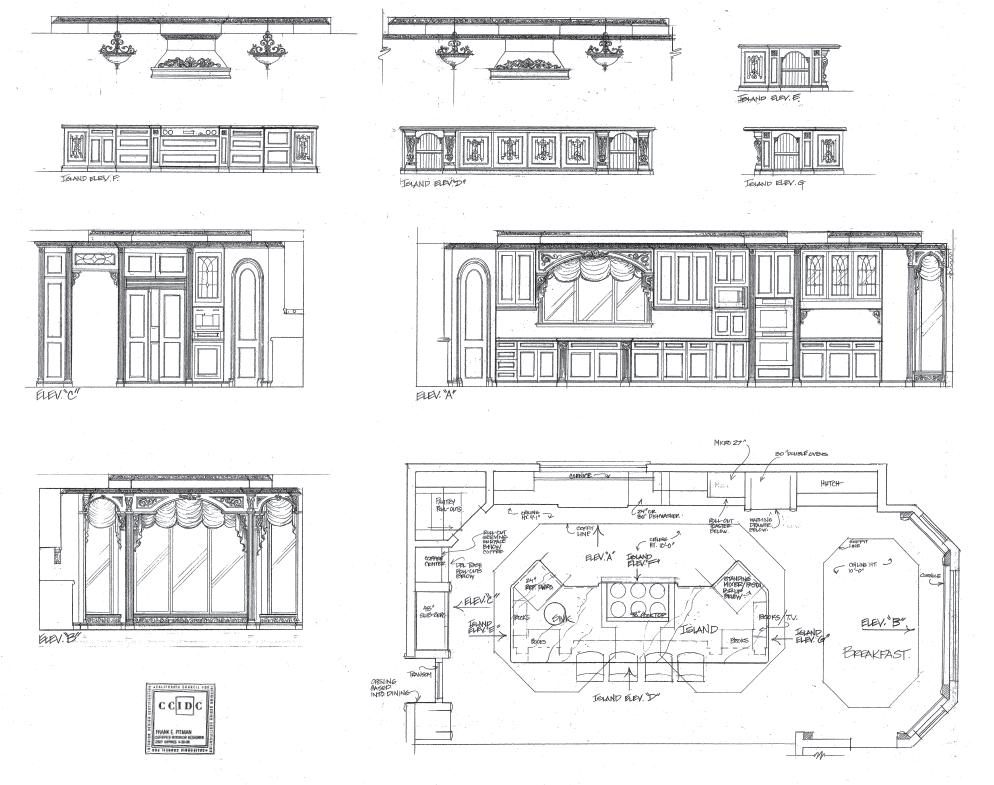 Interior design drawings frank pitman designs - Interior Design Drawings Frank Pitman Designs