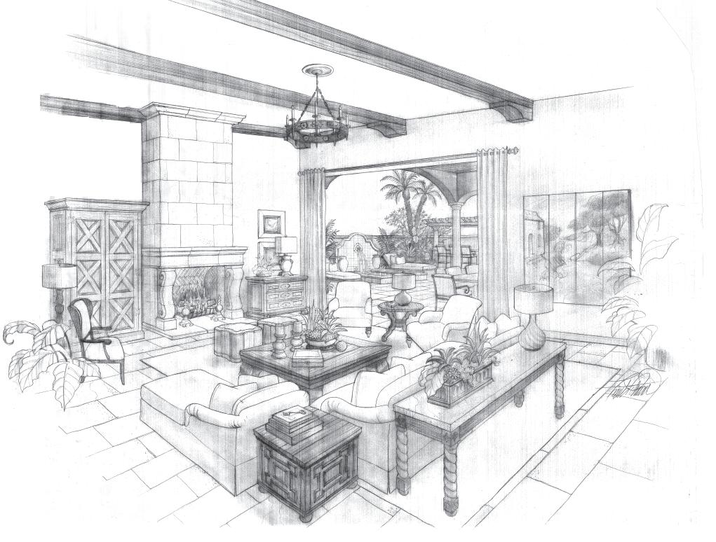 image gallery - Interior Design Drawings