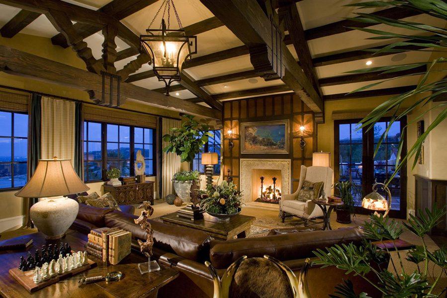 Living Spaces Orange County : Living Areas - Frank Pitman Designs